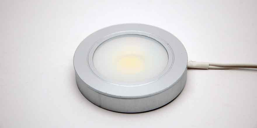 led puck light recessed surface mounted dimmable led. Black Bedroom Furniture Sets. Home Design Ideas