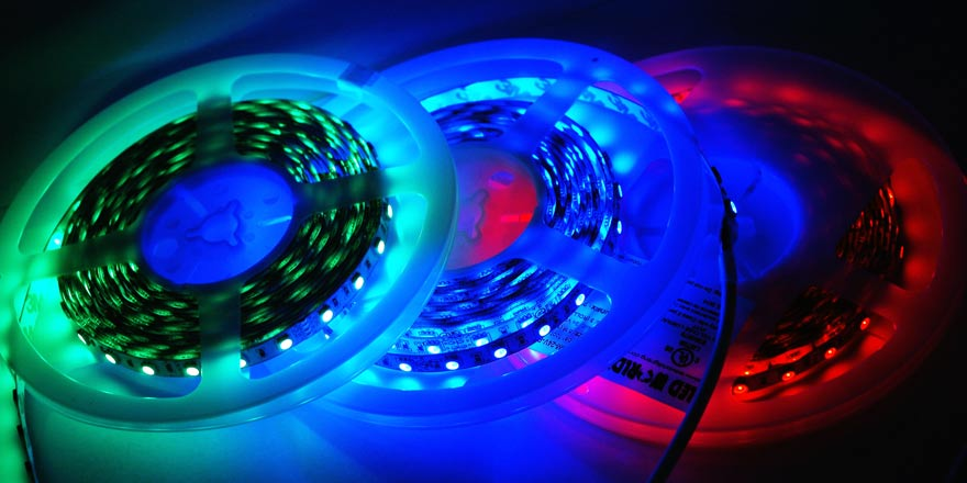 RGB LED Strip FA60M50 5M 24V RGB LED World Canada
