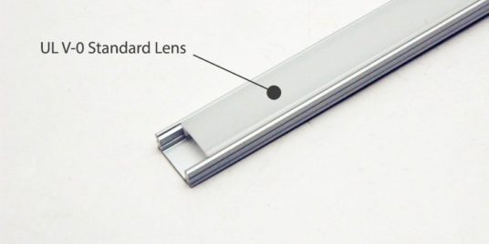 Featuring UL V-0 standard lens