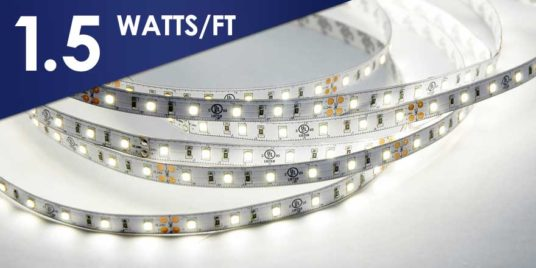 24VDC 50ft long run LED strip